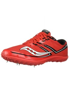 Saucony Men's Kilkenny XC7 Track Shoe red/Black  M US