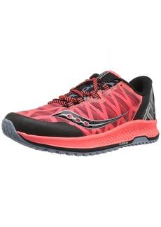 Saucony Men's KOA TR Sneaker viz red/Black