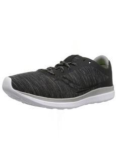 Saucony Men's Liteform Escape Sneaker Charcoal/tan