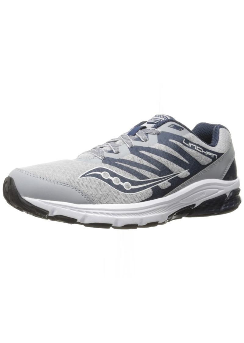 Saucony Men's PowerGrid Linchpin Running Shoe   M US
