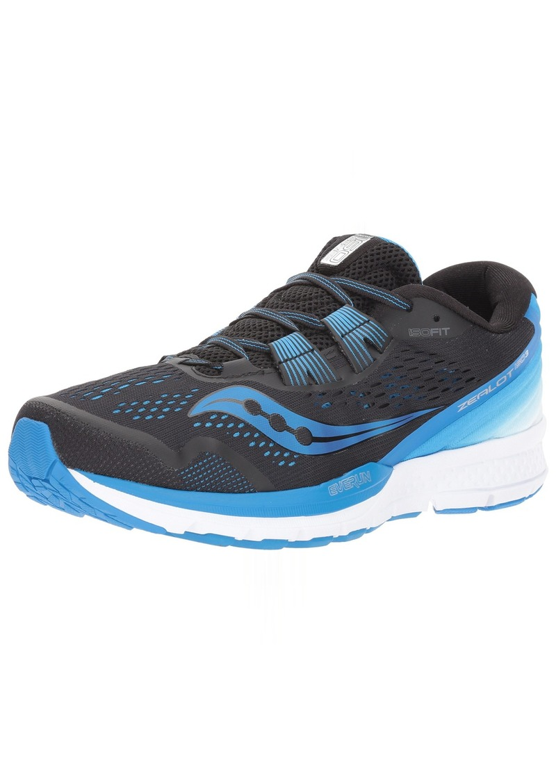 Saucony Men's Zealot ISO 3 Running Shoe   Medium US