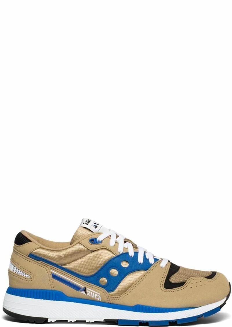 Saucony Originals Men's Azura Sneaker tan/Blue  M US