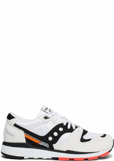Saucony Originals Men's Azura Sneaker White/Black/red  M US