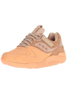 Saucony Originals Men's Grid 9000 HT Running Shoe tan/Orange 13 Medium US