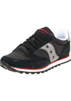 Saucony Originals Men's Jazz Low Pro Classic Retro Sneaker Black/Silver