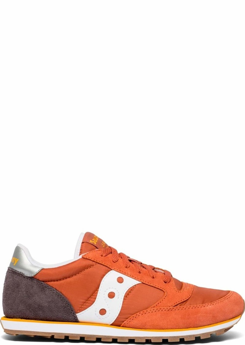 Saucony Originals Men's Jazz Lowpro Sneaker mecca/Coffee/Orange  M US