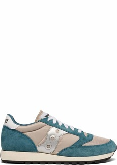 Saucony Originals Men's Jazz Original Sneaker Blue/tan/Silver  M US