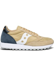 Saucony Originals Men's Jazz Original Sneaker tan/Navy  M US