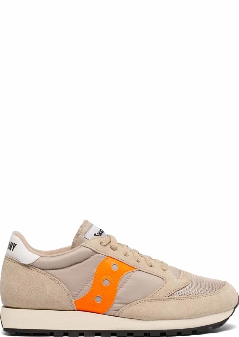 Saucony Originals Men's Jazz Original Sneaker tan/Orange  M US