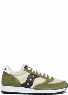 Saucony Originals Men's Jazz Original Vintage Sneaker tan/Olive/Brown 9.5 M US
