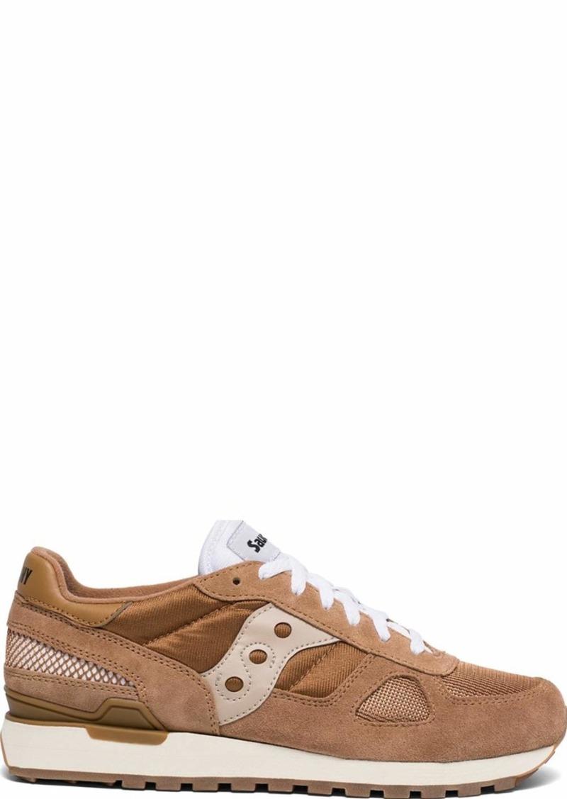Saucony Originals Men's Shadow Original Vintage Sneaker Brown/tan  M US