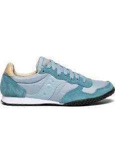 Saucony Originals Women's Bullet Sneaker Light Blue/tan  M US