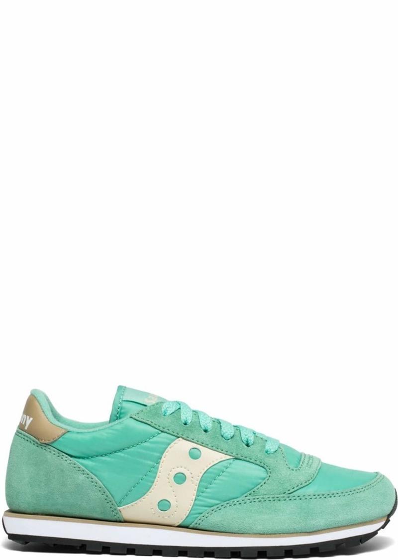 Saucony Originals Women's Jazz Lowpro Sneaker Mint/tan  M US