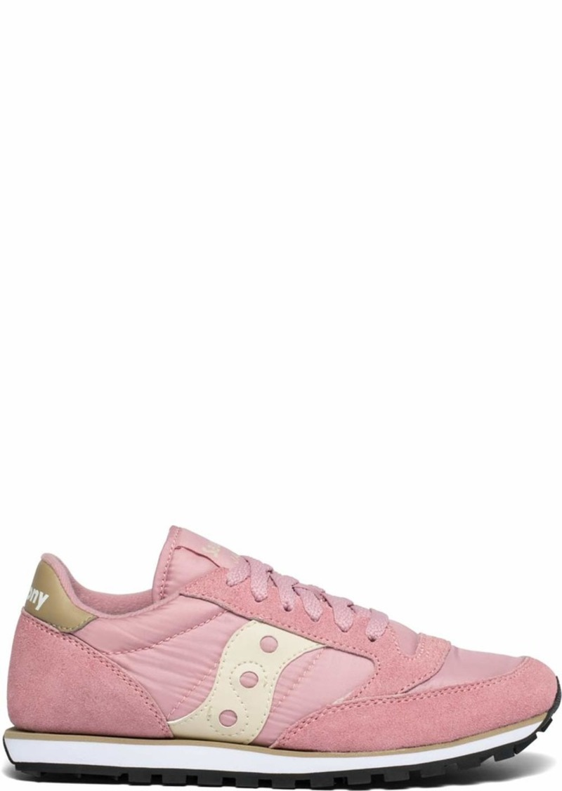 Saucony Originals Women's Jazz Lowpro Sneaker Pink/tan  M US