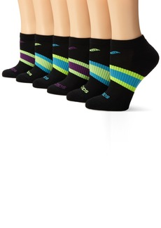 Saucony Women's 6-Pack Performance No Show Socks