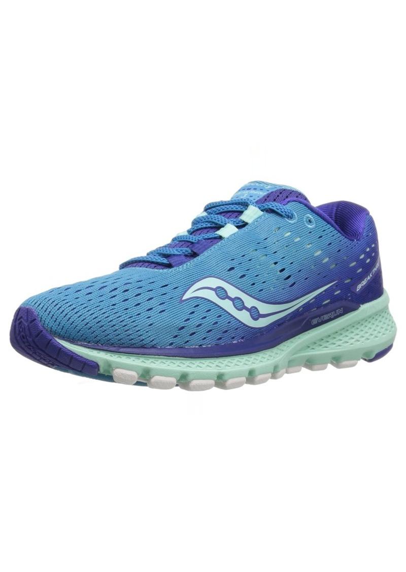 Saucony Women's Breakthru 3 Running Shoe Blue Mint 0 M US
