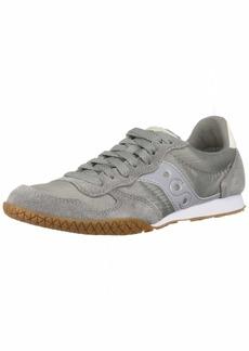 Saucony Women's Bullet Sneaker grey/gum  M US
