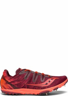 Saucony Women's Carrera XC 3 Track Shoe Berry/Vizi red  M US