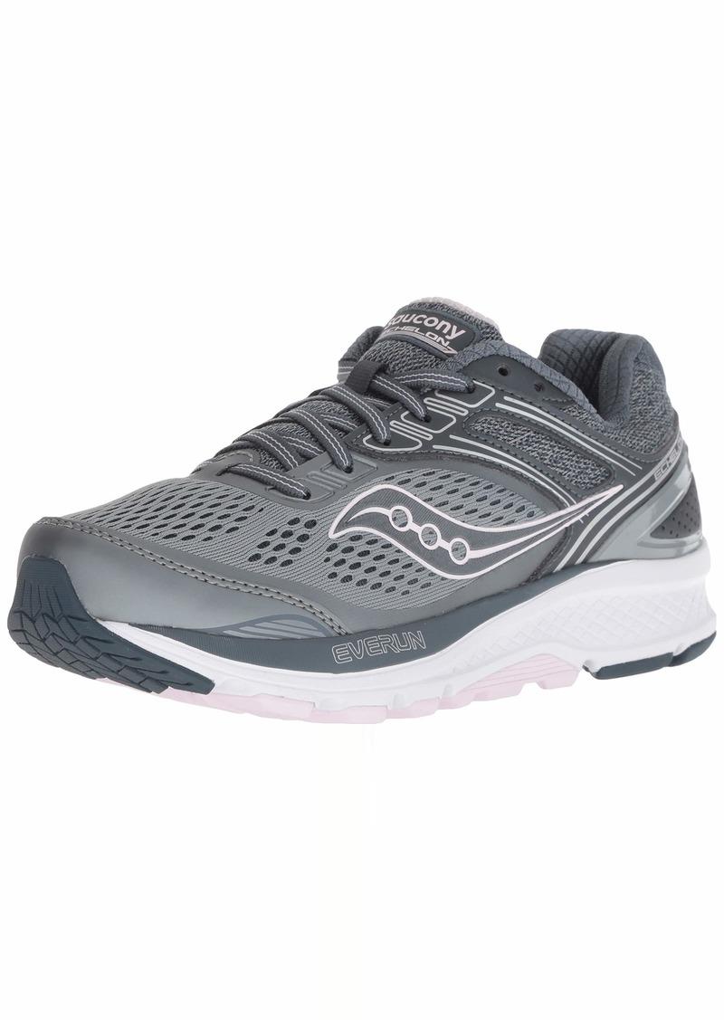 Saucony Women's Echelon 7 Running Shoe Slate/Pink  M US