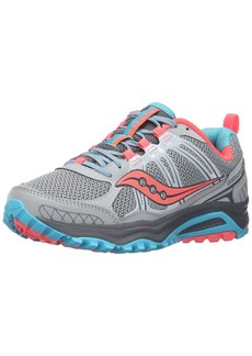 Saucony Women's Grid Excursion Tr10 Trail running Shoe Grey/Blue/Combo  M US
