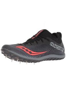 Saucony Women's Havok XC2 Track Shoe Black/Grey/VIZIRED  M US