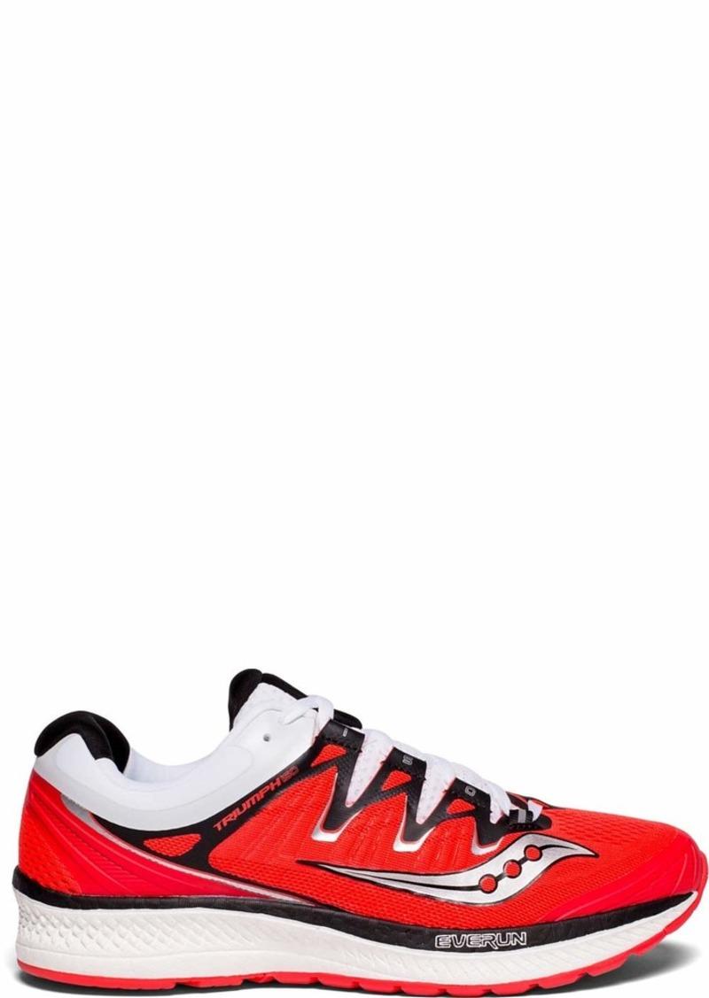 Saucony Women's Triumph ISO 4 Running Shoe Vizi red/White  Medium US