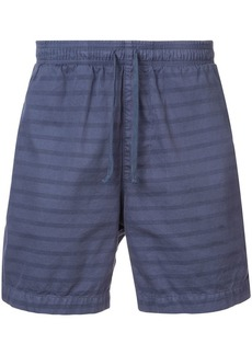 Save Khaki drawstring fitted shorts