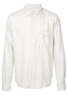 Save Khaki flannel work shirt