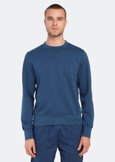 Save Khaki Long Sleeve Supima Fleece Field Sweatshirt - S