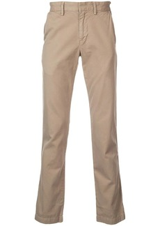 Save Khaki straight-leg trousers