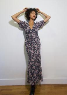 Saylor Alana Floral Maxi Dress - XS