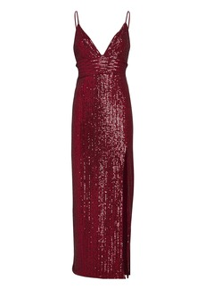 Saylor Gillian Sequinned Midi Dress