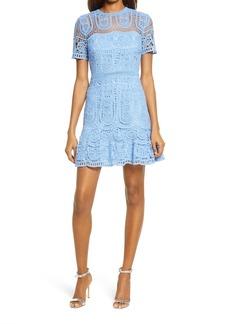 Saylor Collier Lace Minidress