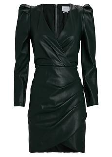 Saylor Tallulah Vegan Leather Mini Dress