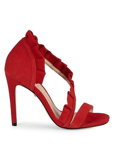SCHUTZ Aime Suede High-Heel Sandals