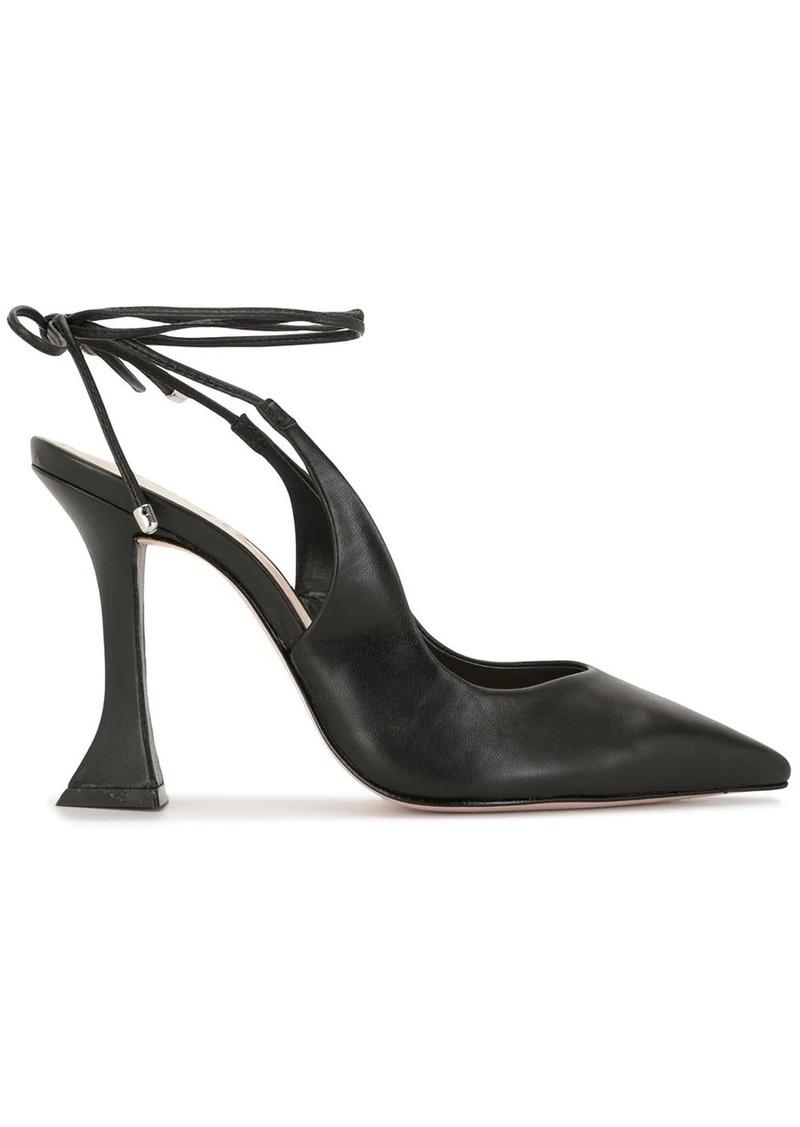 ankle lace-up pumps