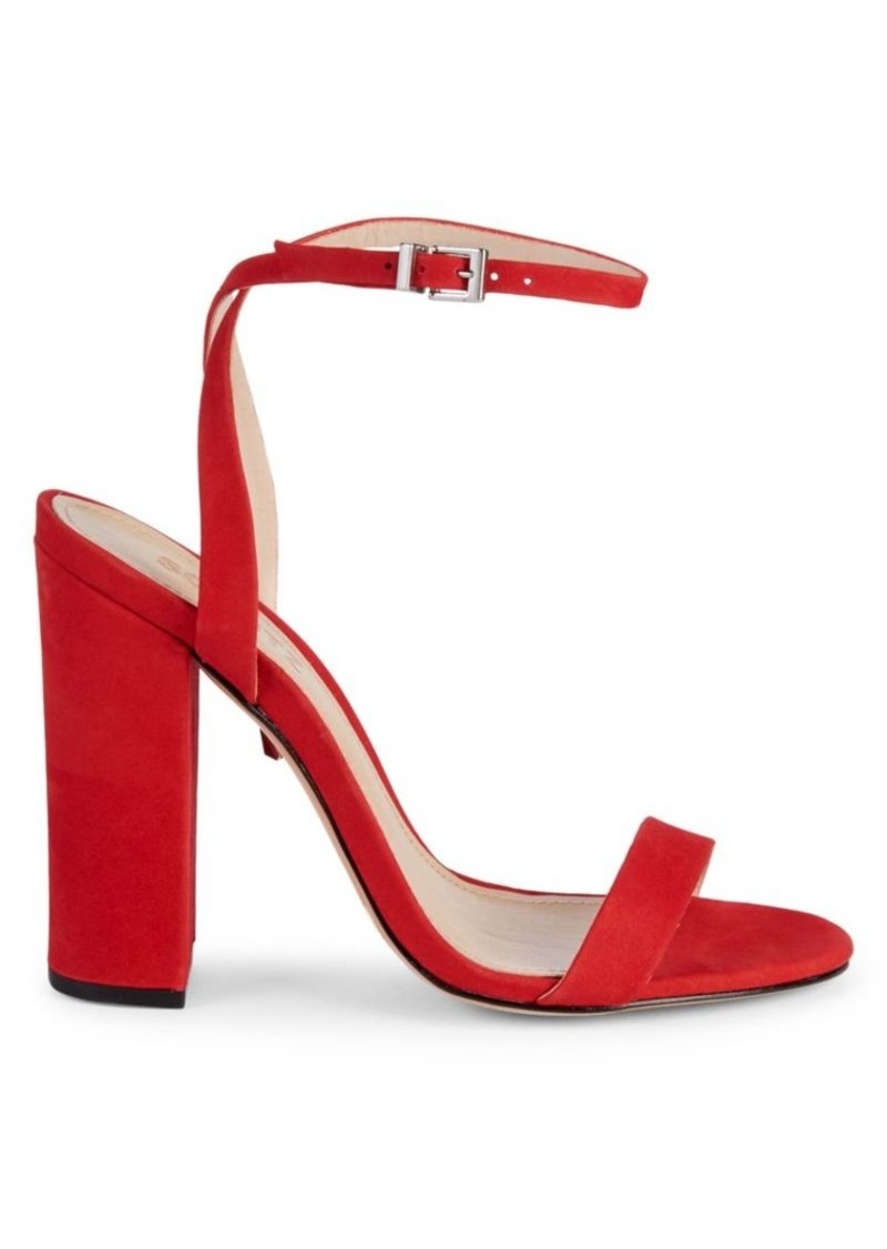 SCHUTZ Ayda Suede Heeled Sandals