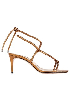 SCHUTZ Belize Knotted Leather Sandals