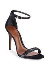 SCHUTZ Cadey-Lee Embellished Ankle-Strap Sandals