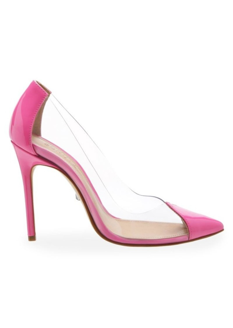 SCHUTZ Cendi Vinyl & Patent Leather Pumps