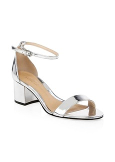 SCHUTZ Chimes Leather Sandals