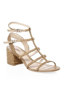 SCHUTZ Clarcie Block Heel Sandals