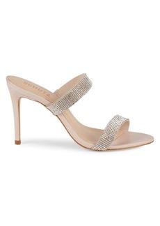 SCHUTZ Crystal Embellished Sandals