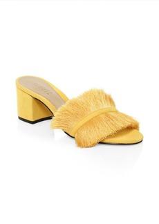 SCHUTZ Elza Fringe Sandals