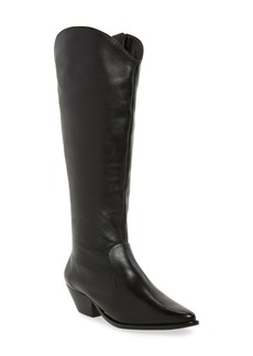 SCHUTZ Fantinne Knee High Leather Boot