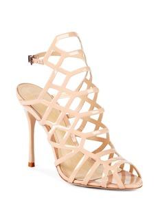 SCHUTZ Juliana Patent Leather Stiletto Sandals