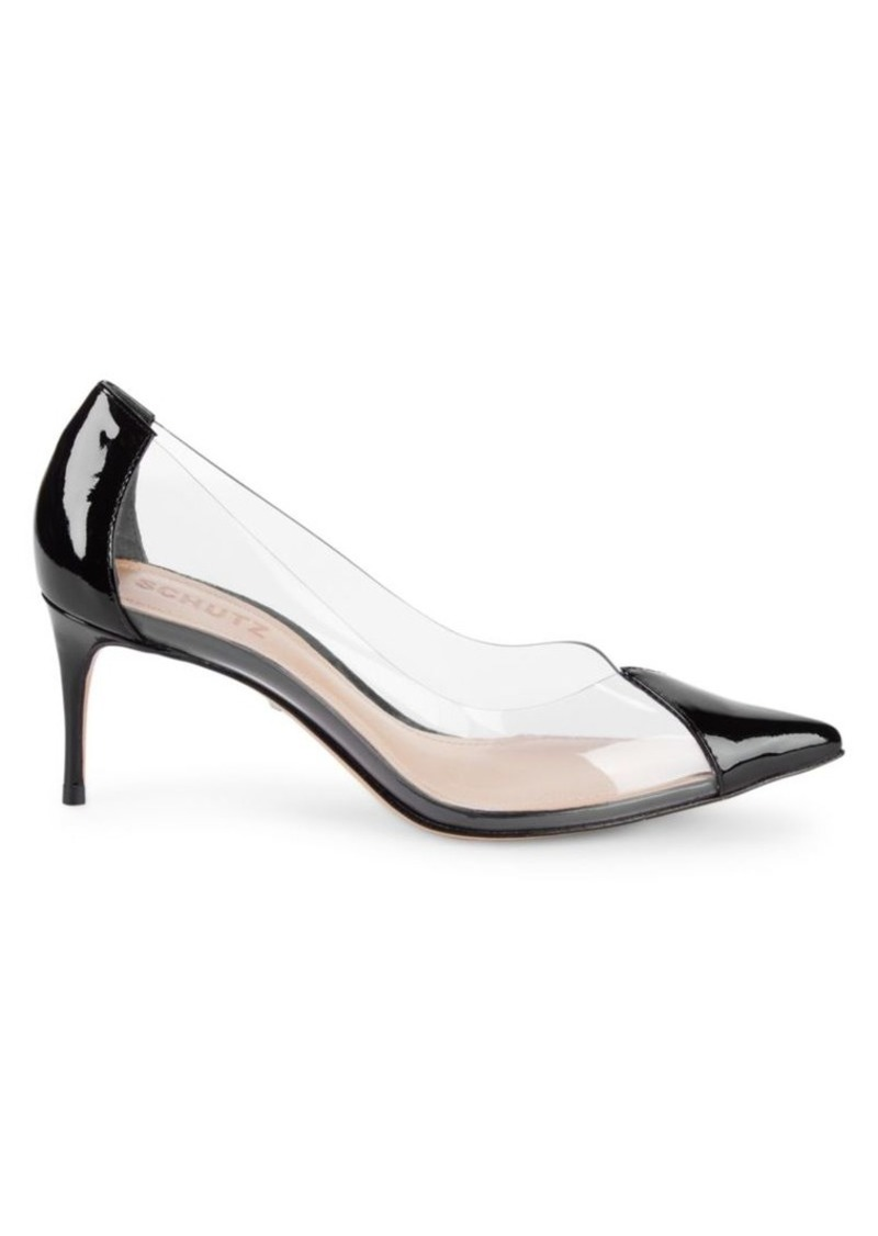 SCHUTZ Kitten Heel Point-Toe Pumps