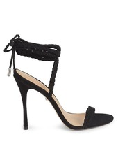 SCHUTZ Lany Rope Wrap Leather Heels