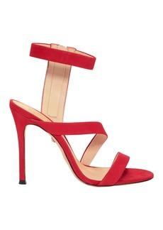 SCHUTZ Lauanne Strappy Red Sandals