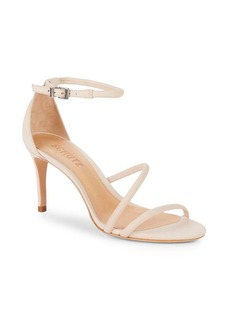 SCHUTZ Leather Ankle-Strap Sandals